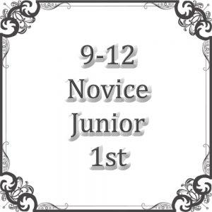 9-12 Novice Junior